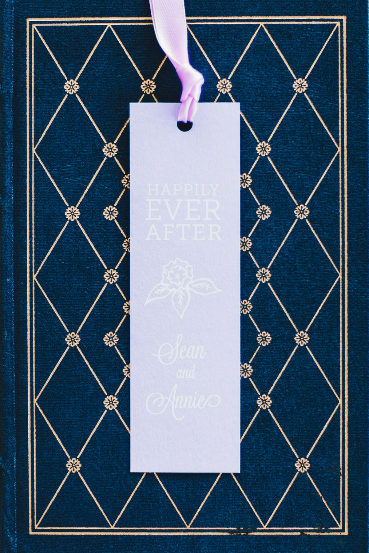 bookmark wedding favor