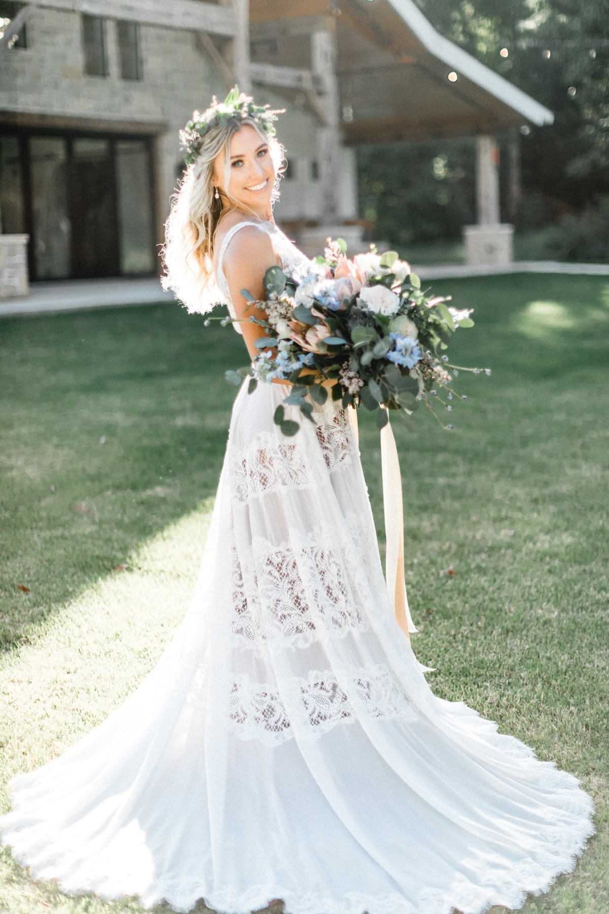 boho wedding dress we are so in love with