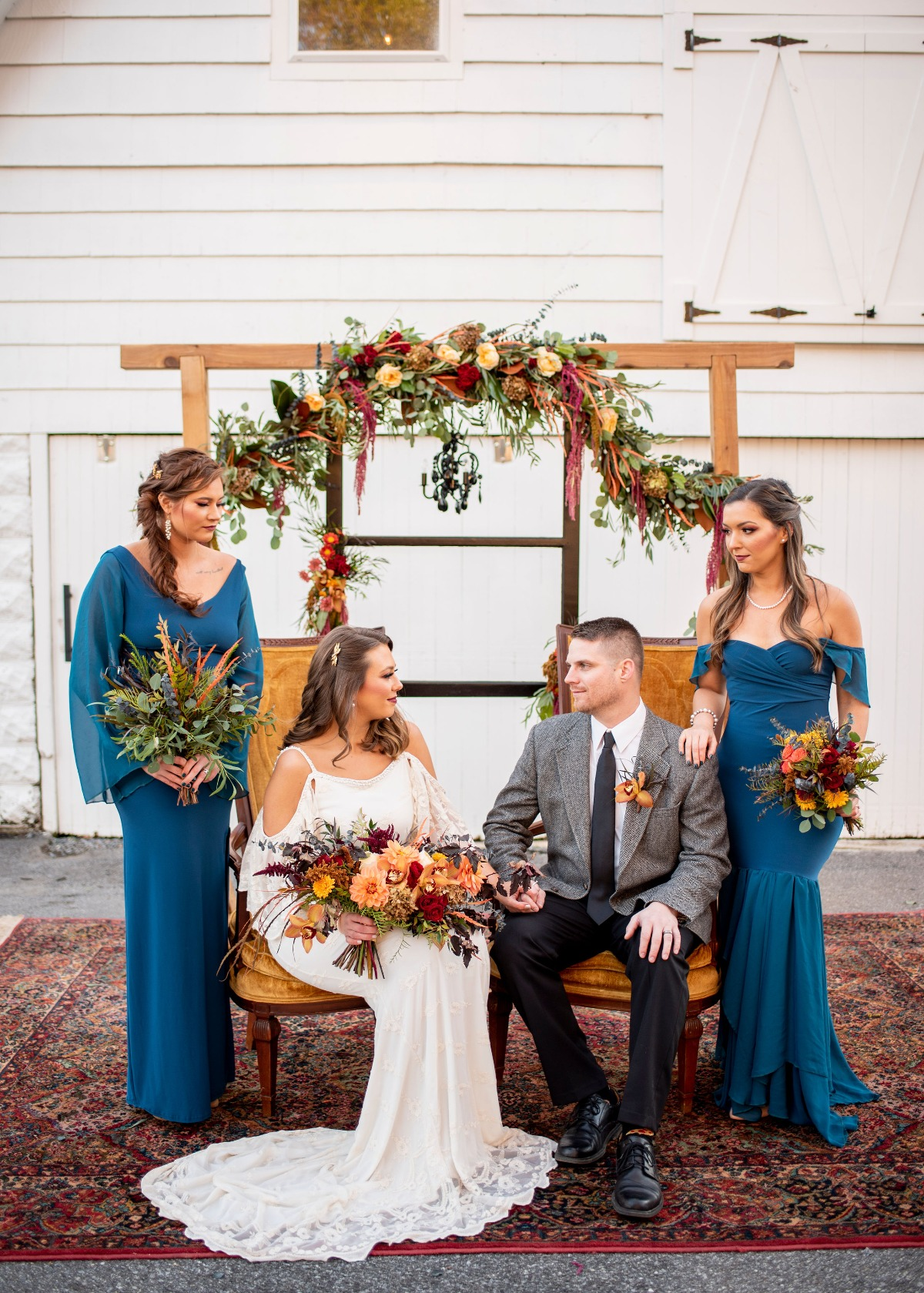 Fall boho wedding inspiration