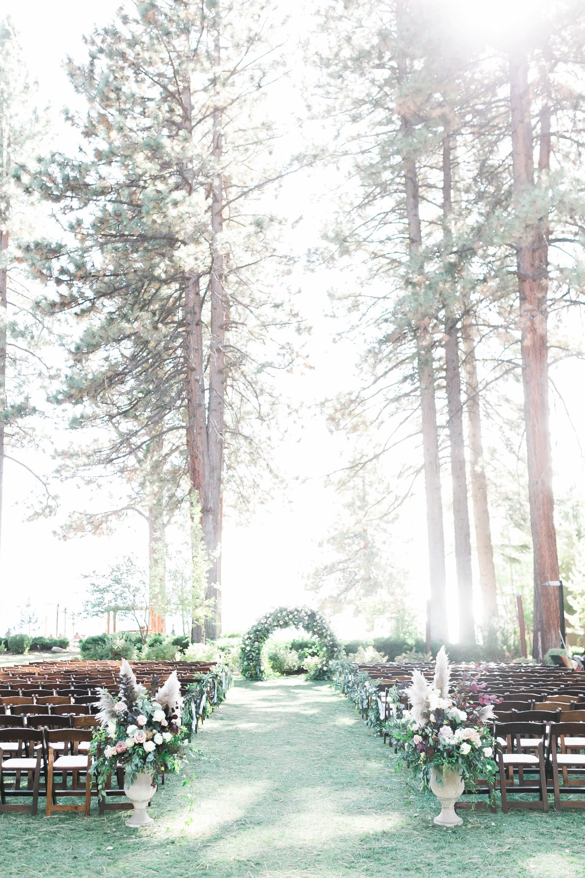outdoor wedding in Tahoe
