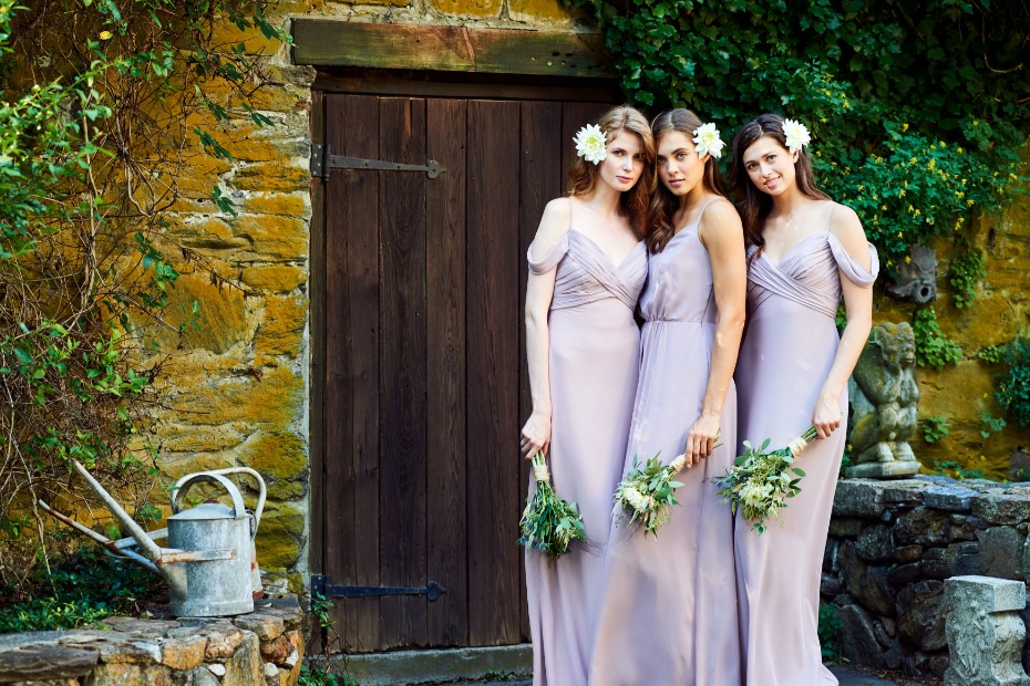Khloe Jaymes Spring 2019 Bridesmaids Purple Story