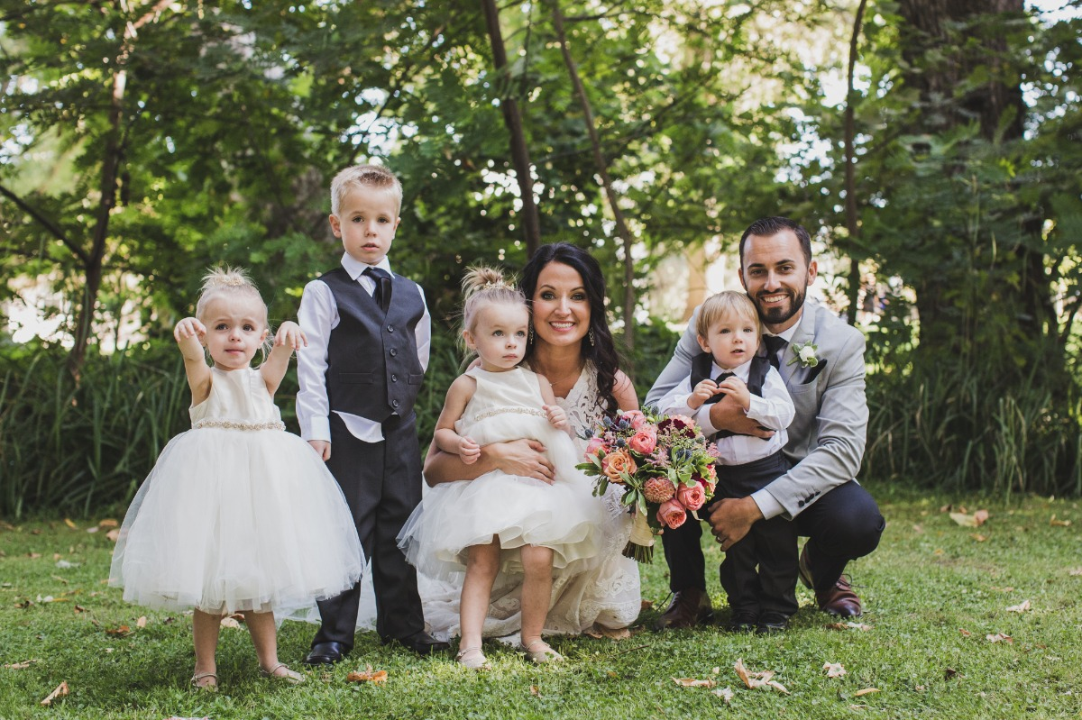 cute little flower girls and ring bearers