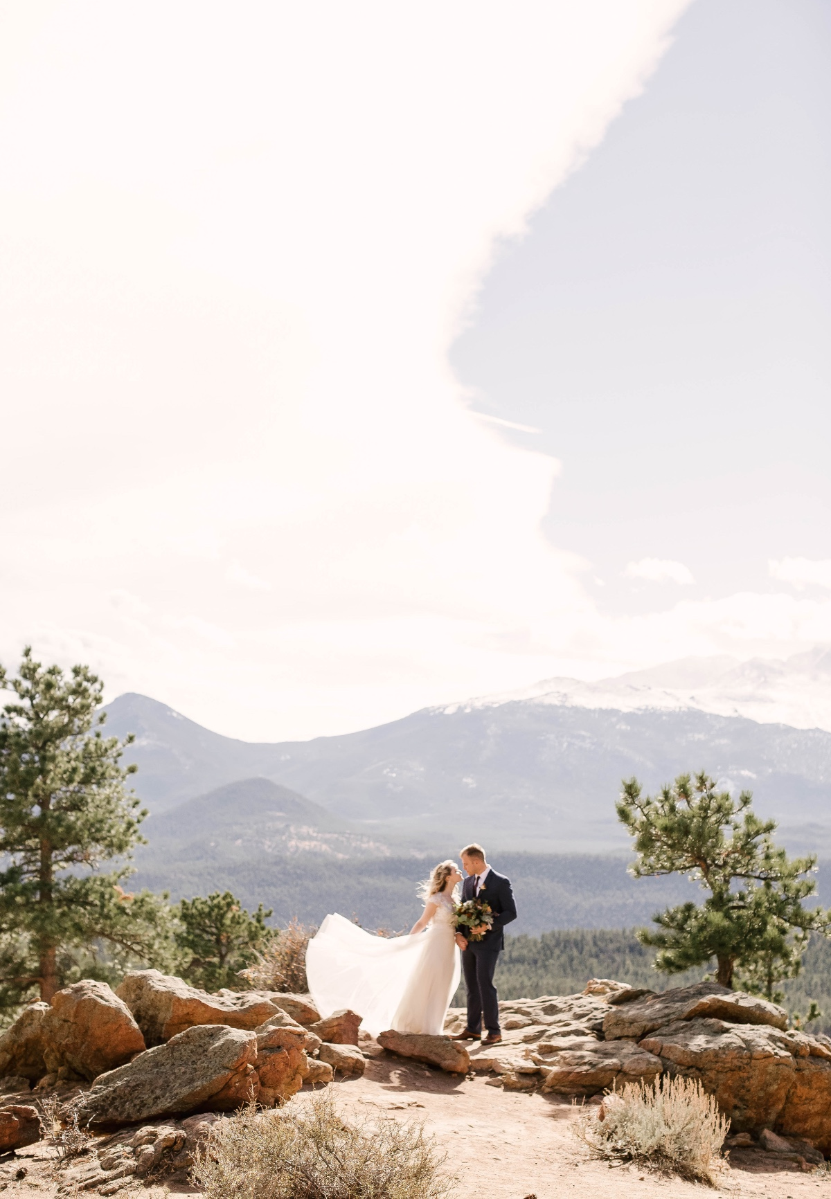 An Intimate Rocky Mountain Fall Wedding