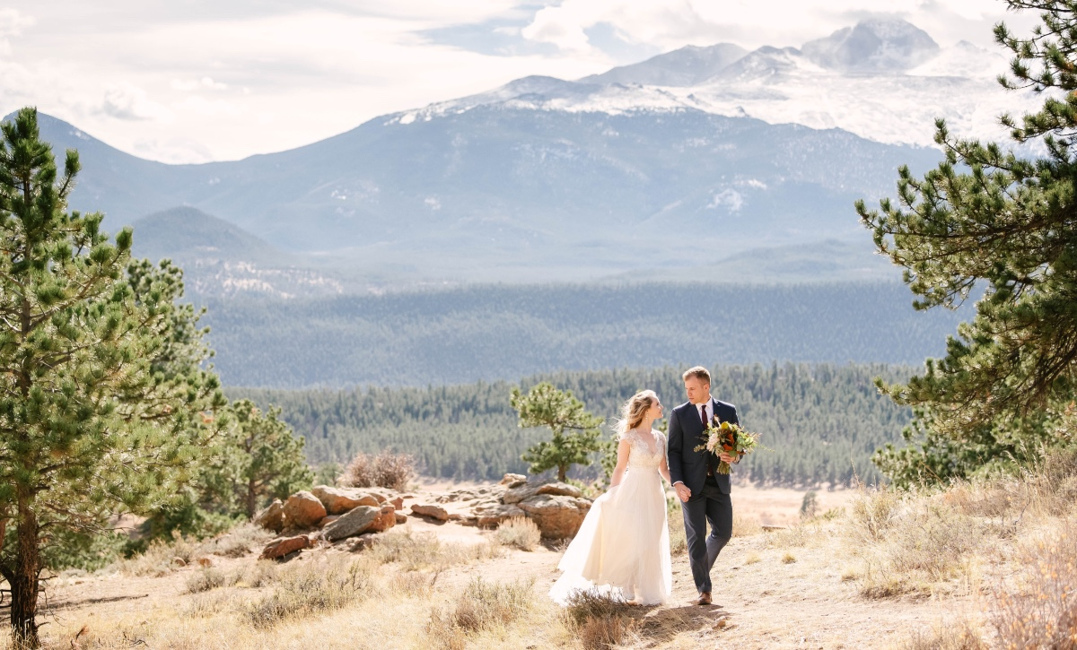 wedding in the Rocky Mountains