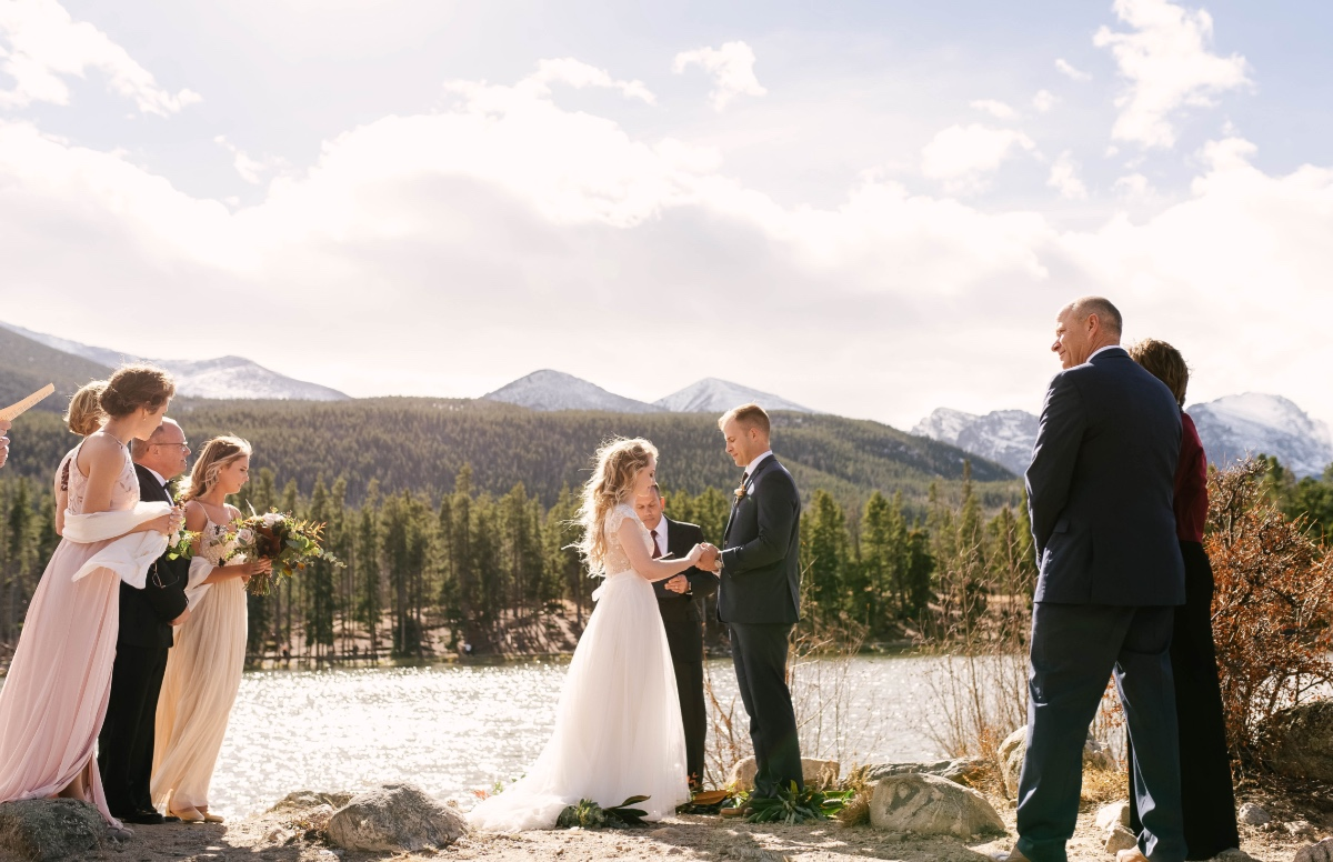 standing room only wedding ceremony