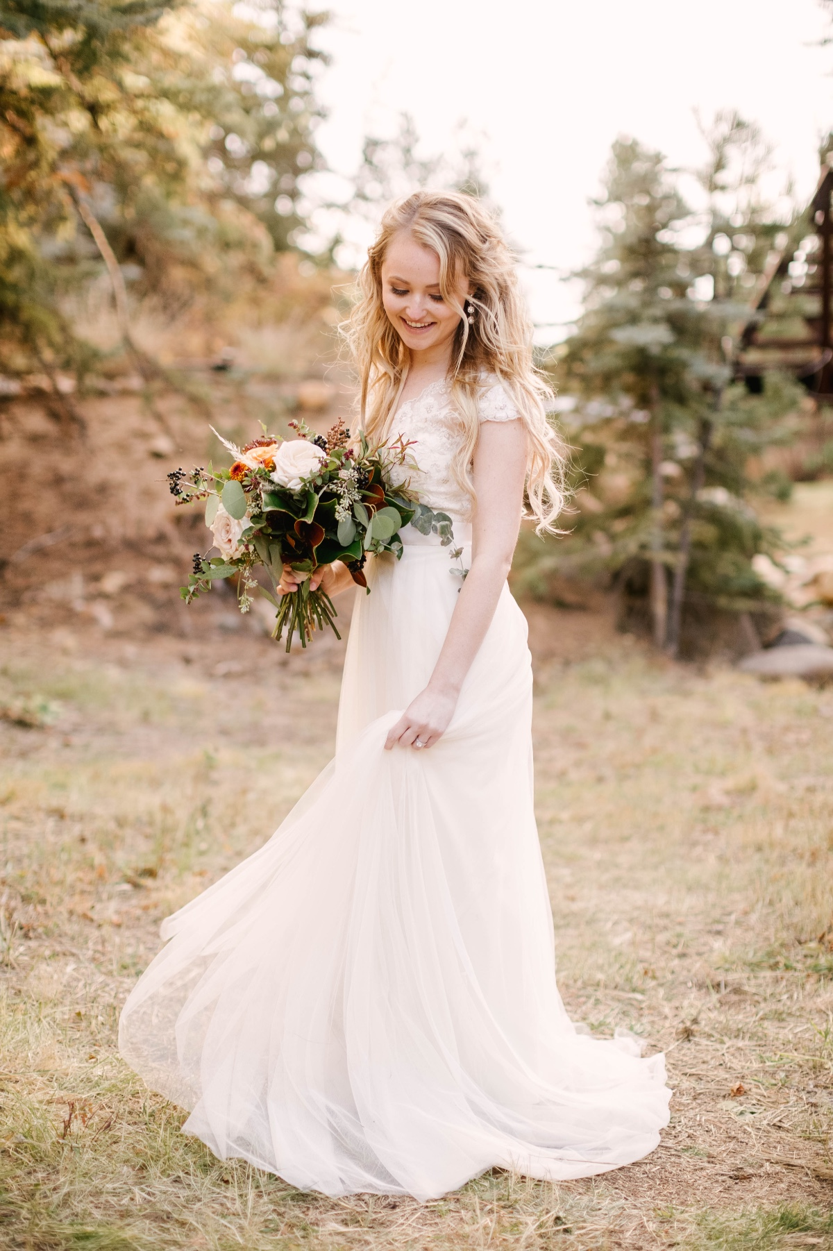 simple and sweet wedding dress from Watters