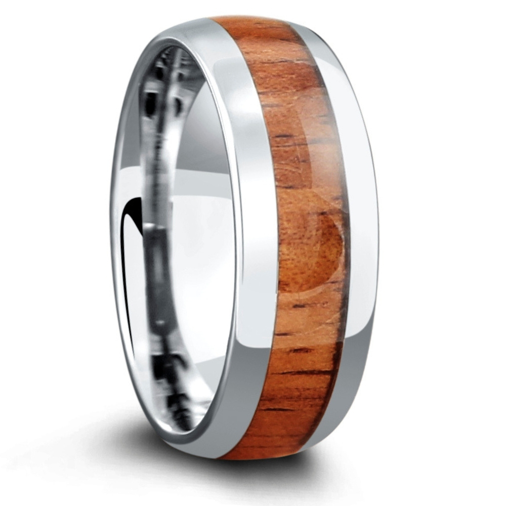 The Classic - The Original Wood Ring that started it all. This wood wedding ring is perfect for the future husband who enjoys the great