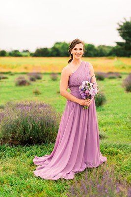 Whimsical, Sugar-Filled Lavender Field Inspiration Shoot