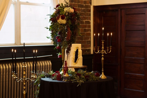 A Late Fall Wedding Inspiration With Vintage Vibes