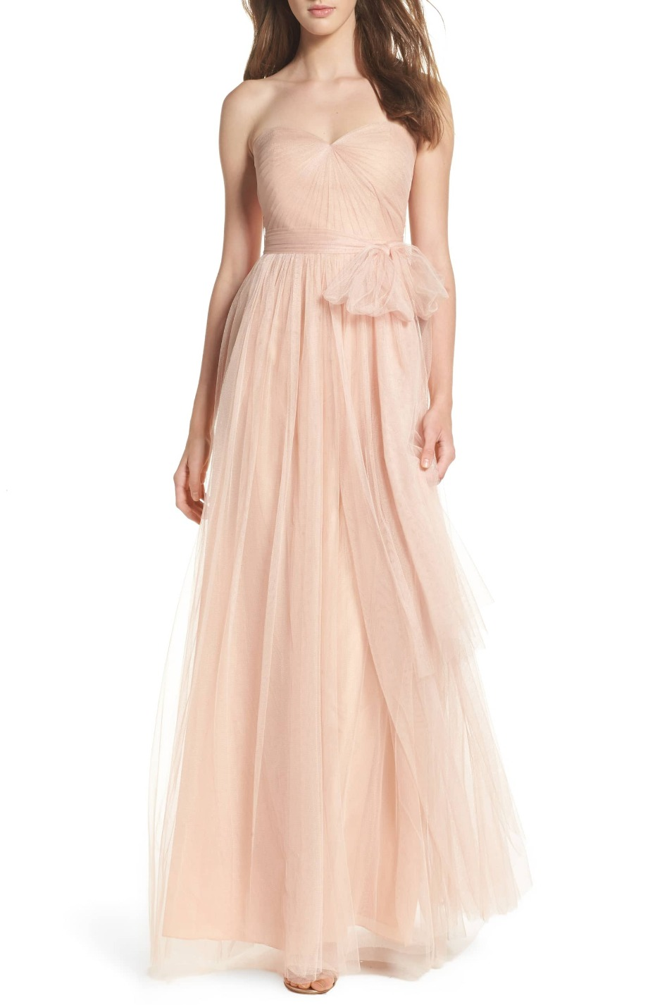 Jenny Yoo Convertible Tulle Gown