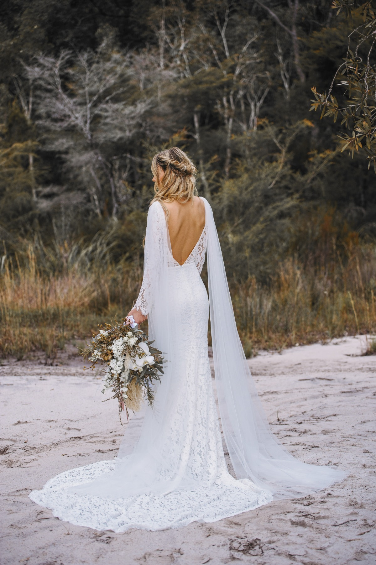 The Alysia gown by Goddess by Nature