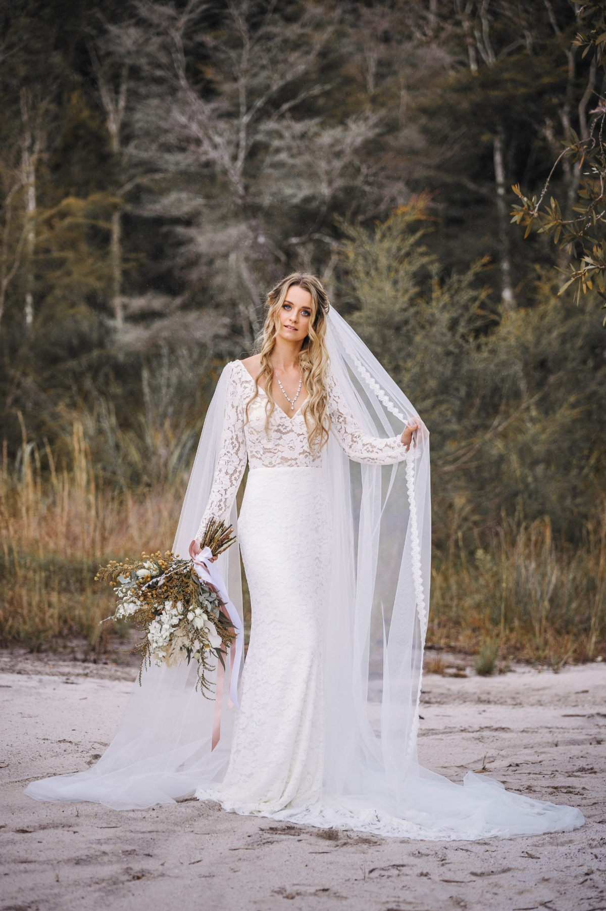 Alysia gown from Goddess by Nature