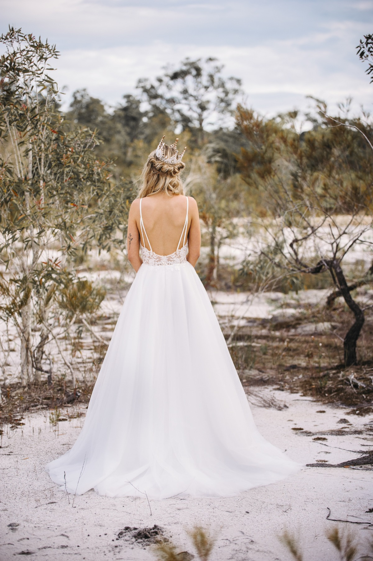 Elizabeth gown from Goddess by Nature