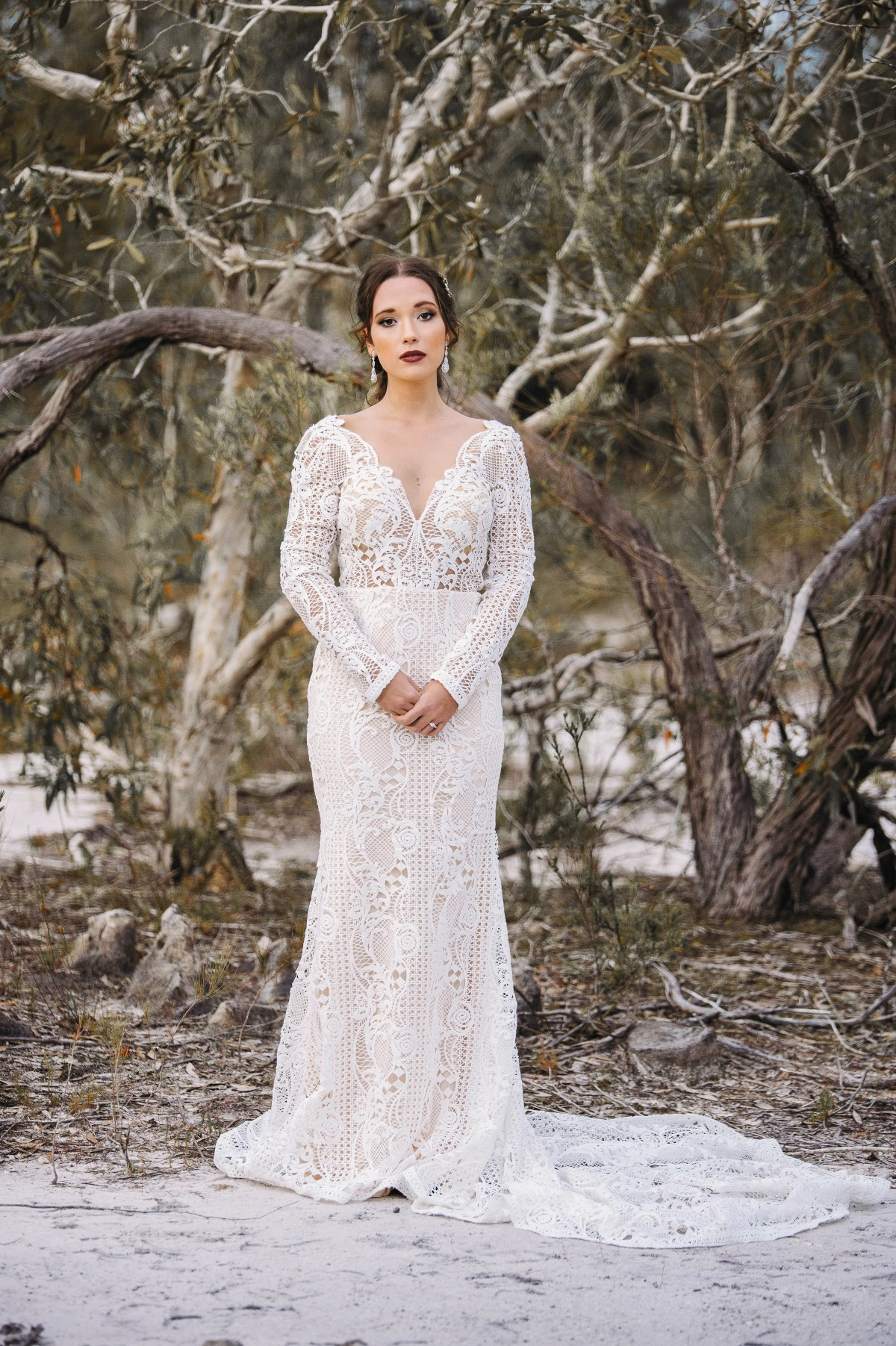 Delilah gown from Goddess by Nature