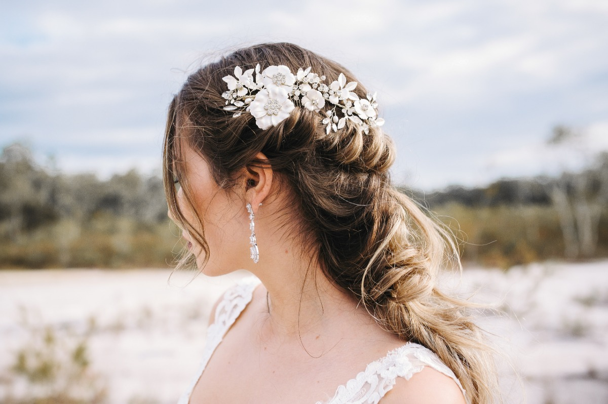 Winter bridal hair inspiration