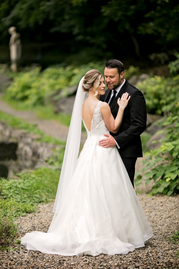 Real Lea-Ann Belter Bride Meghan + Tim's end of September wedding at the Saratoga Polo Club. Gown: Lea-Ann Belter Violet | bridal shop