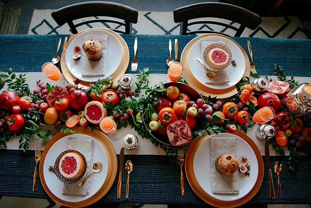 fruit for days holiday table