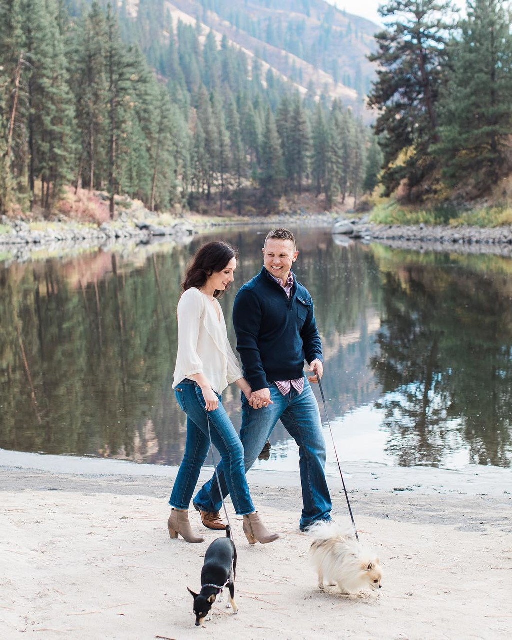 Talk about the sweetest couple! So looking forward to Mike & Heather's wedding in McCall.
