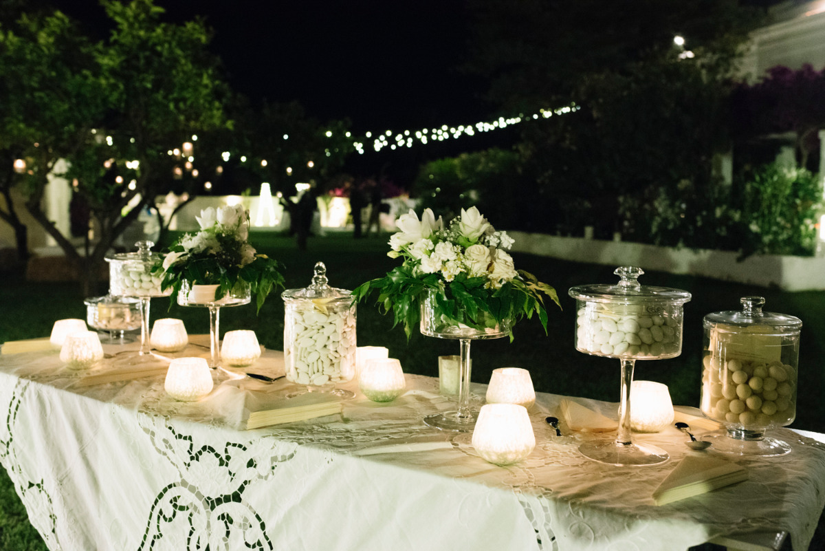 what wedding sweets table