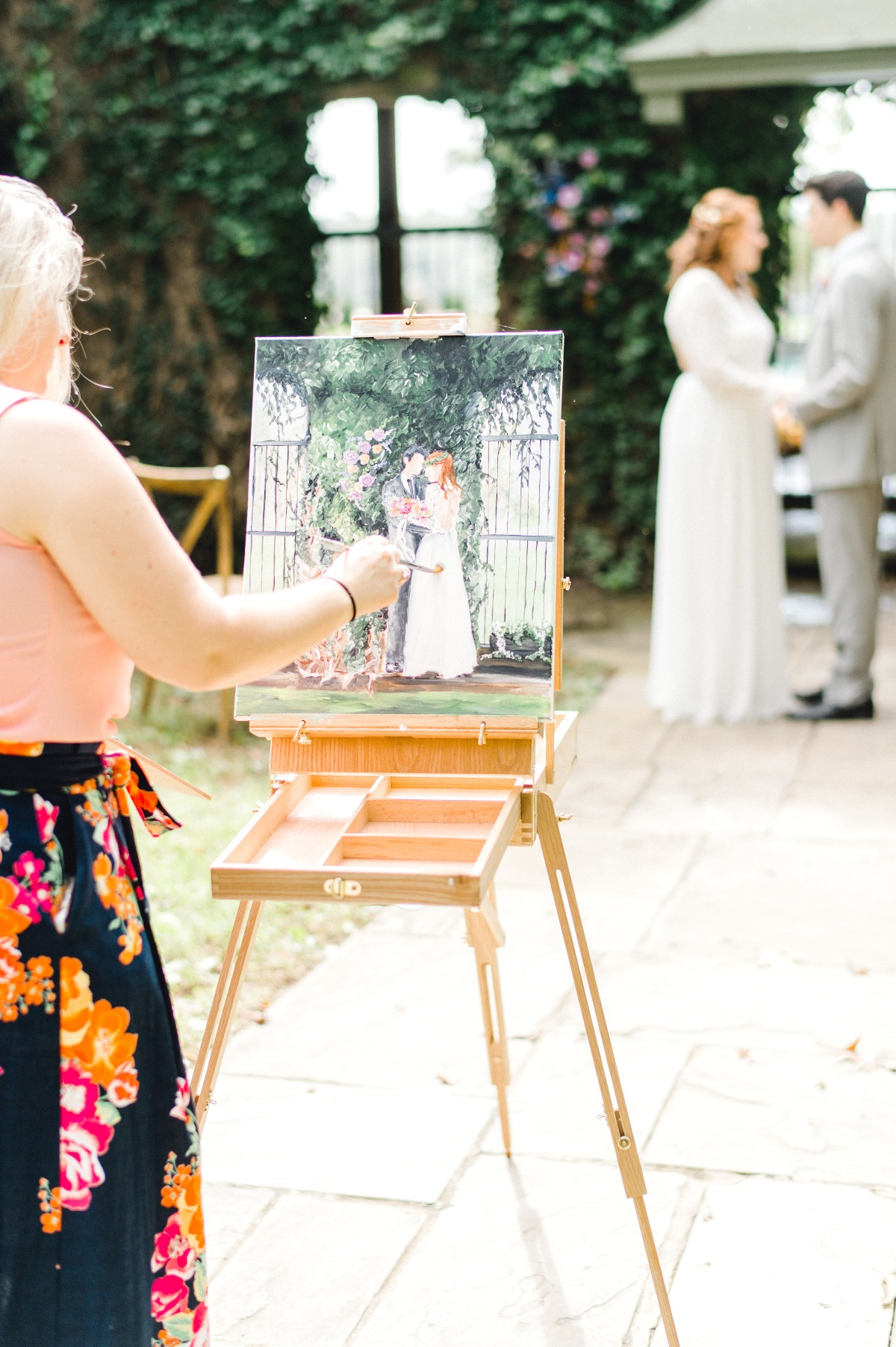 Live painting of your ceremony