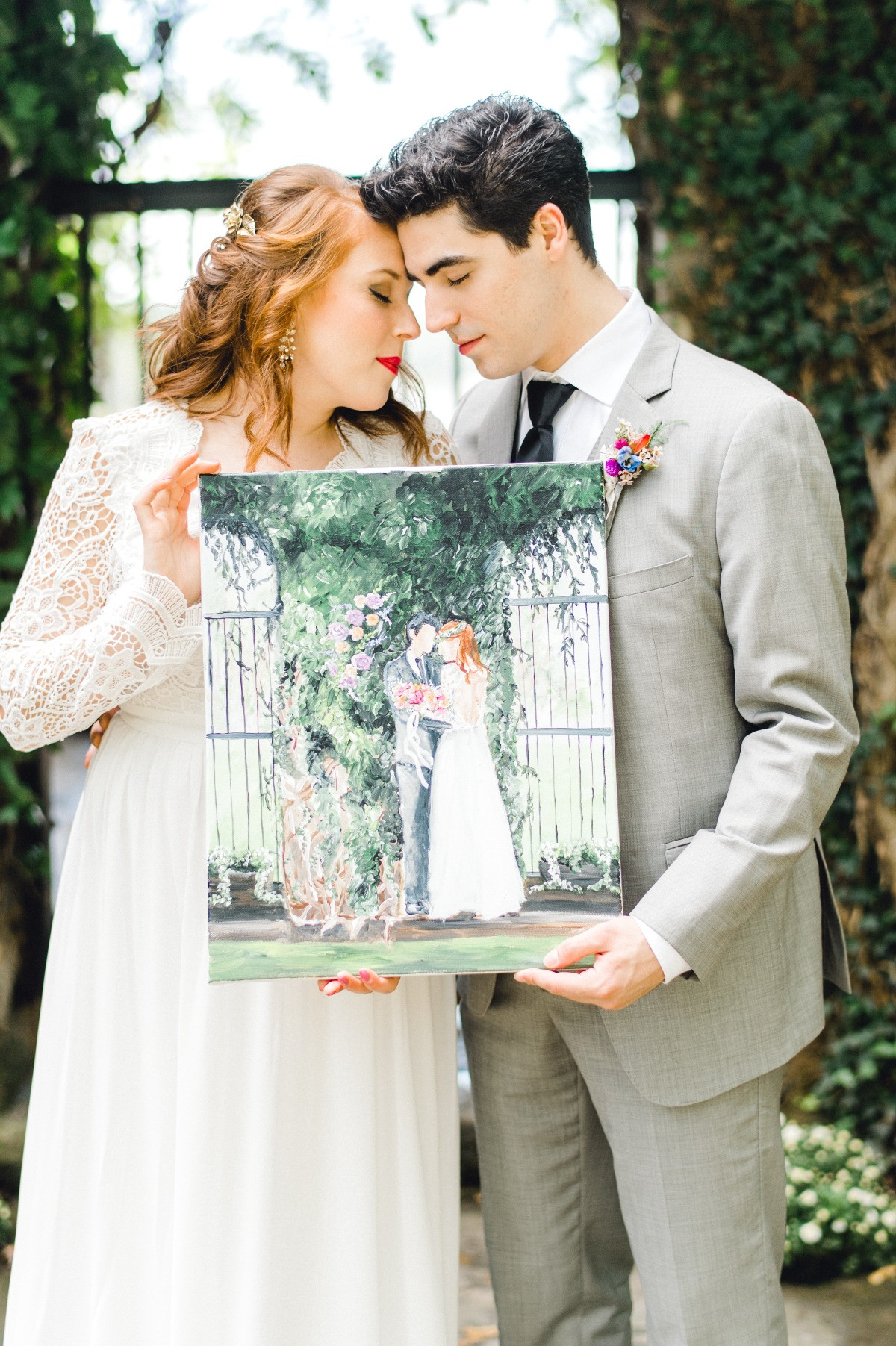 Live painting for your ceremony