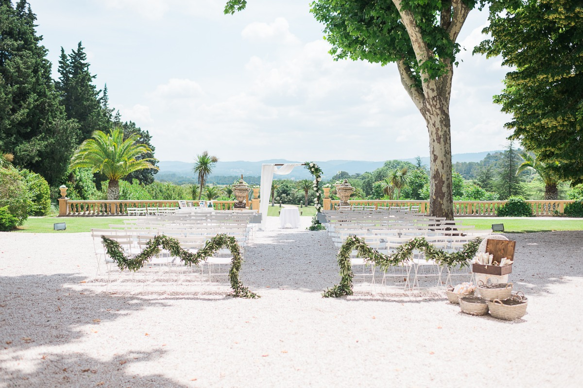 Simple and sweet French Chateau wedding