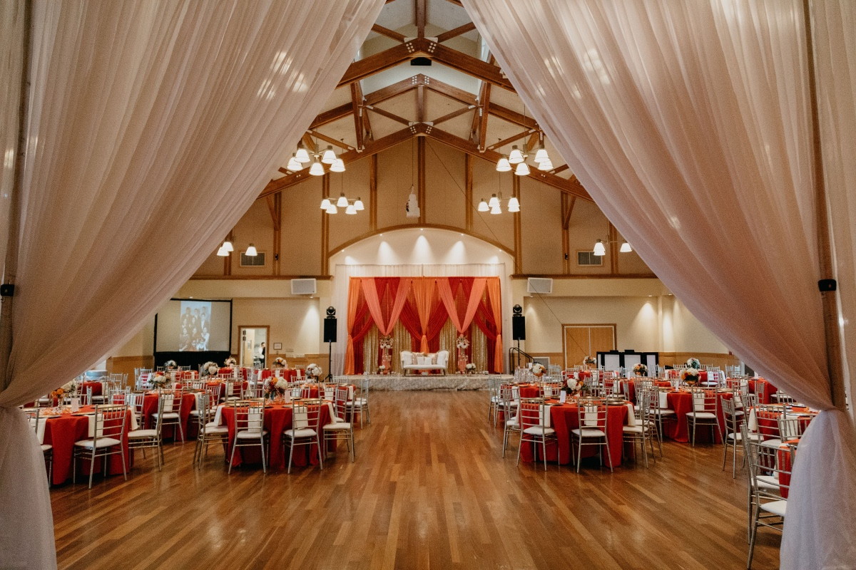 Red and orange reception