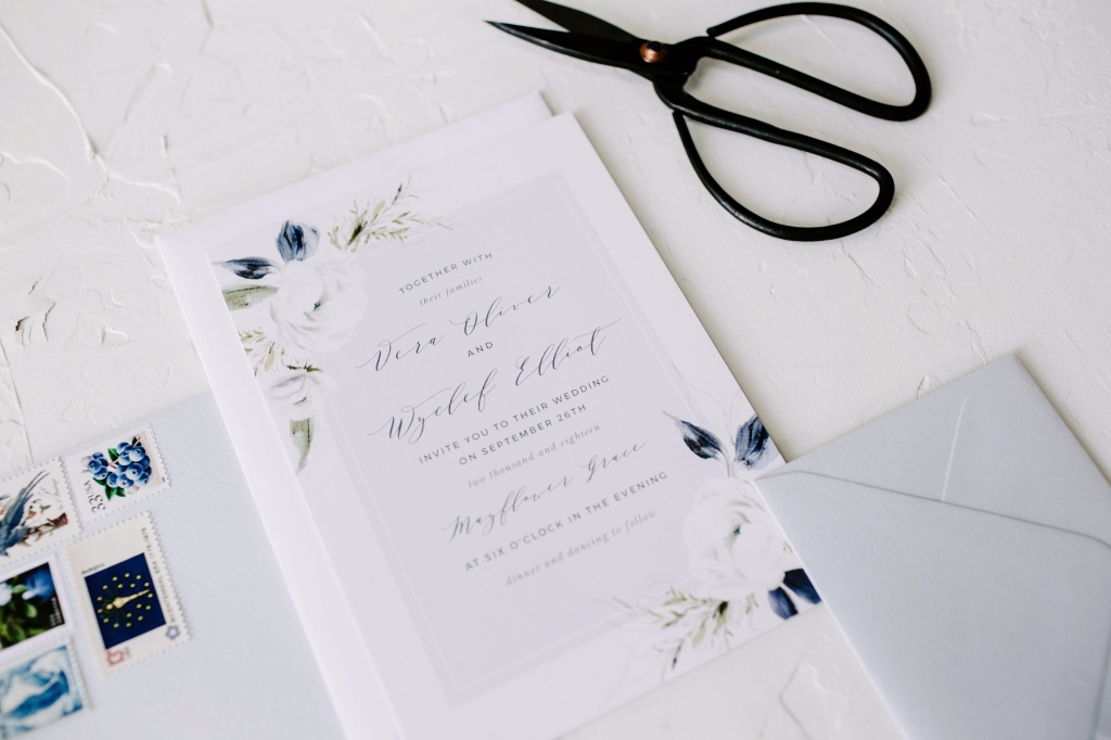 Our Oil Paint Textured Wedding invitations are so romantic, they'd even make Monet swoon.