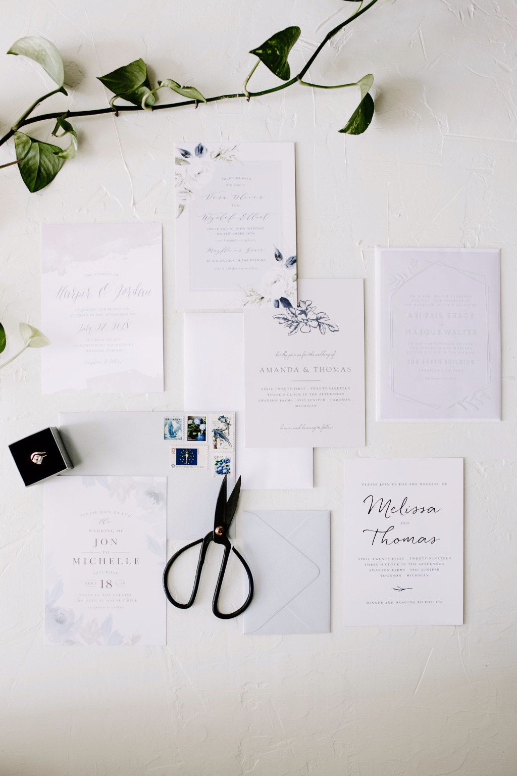 With over 900 different wedding invitation designs, and over 180 colors to customize with, there's no reason your dreams can't become