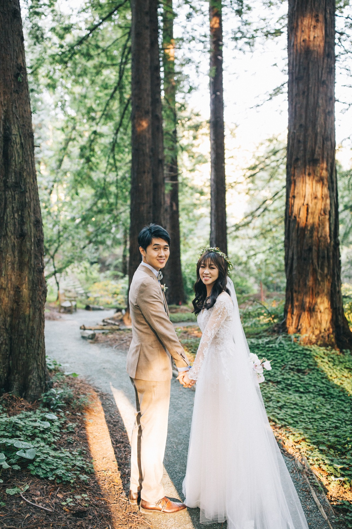 Get married in the redwoods