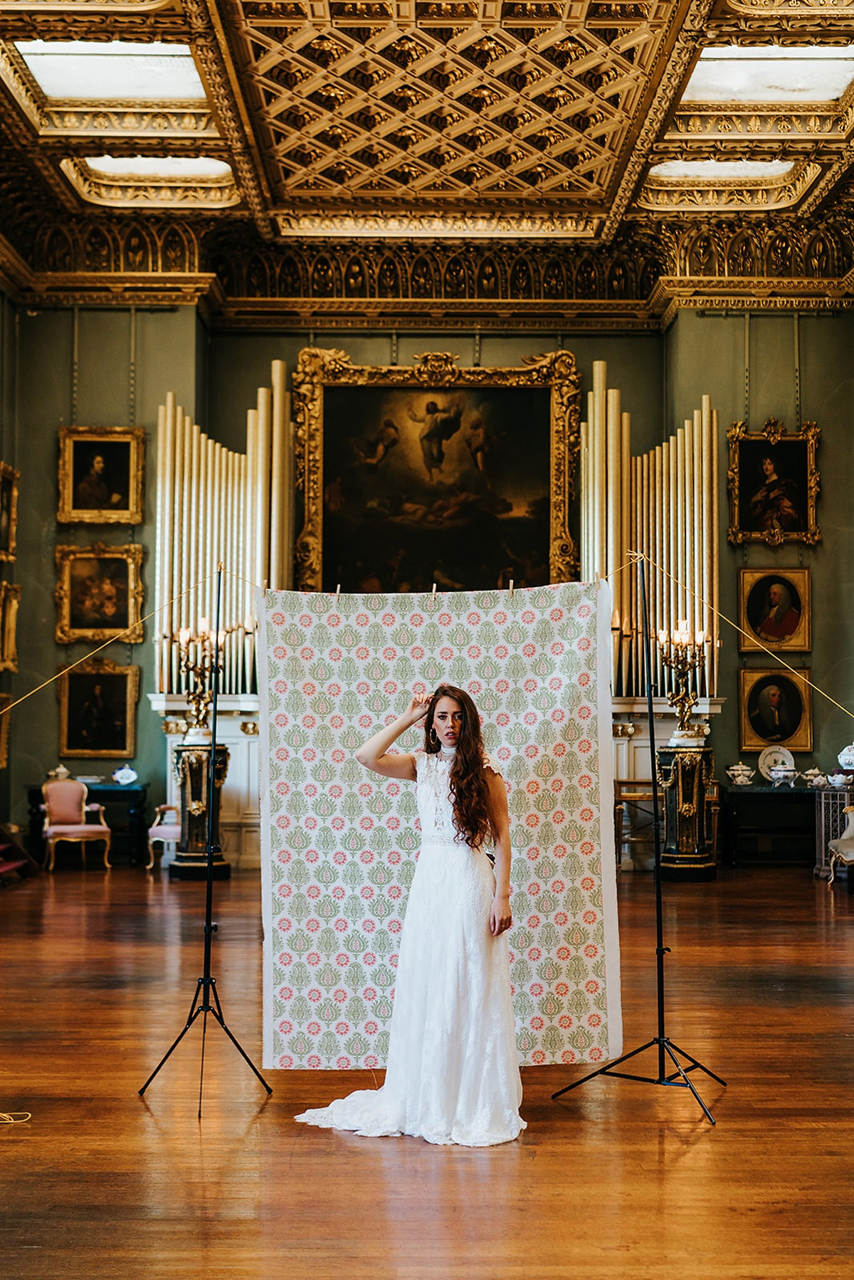 Fall vintage wedding ideas at the Somerley House in the UK