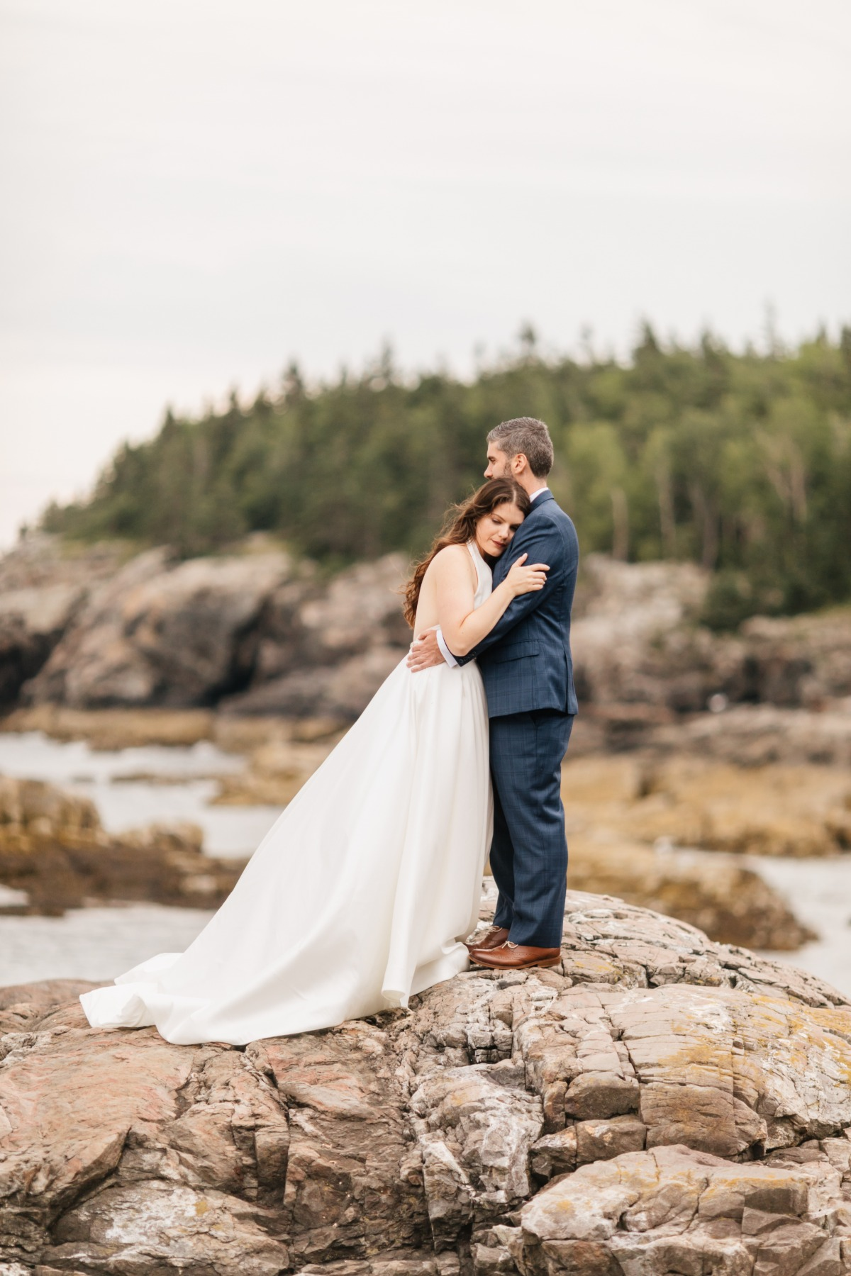 Seaside wedding photos