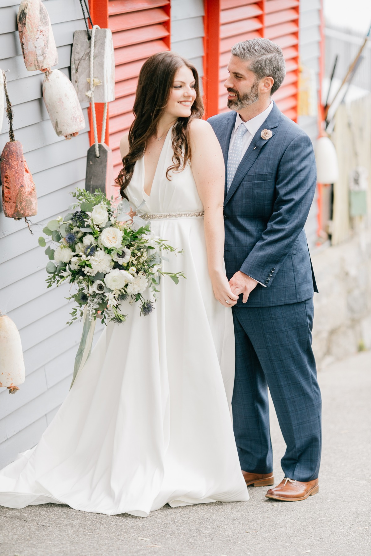 Seascape wedding in Maine