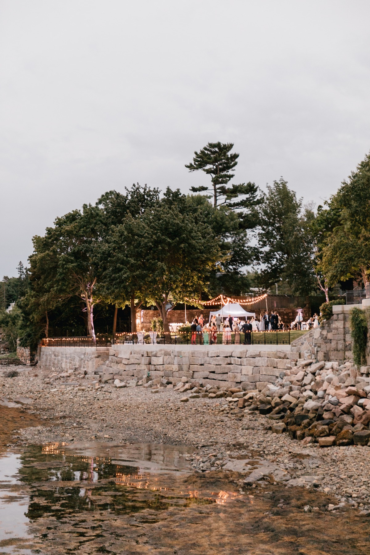Seaside wedding in Maine