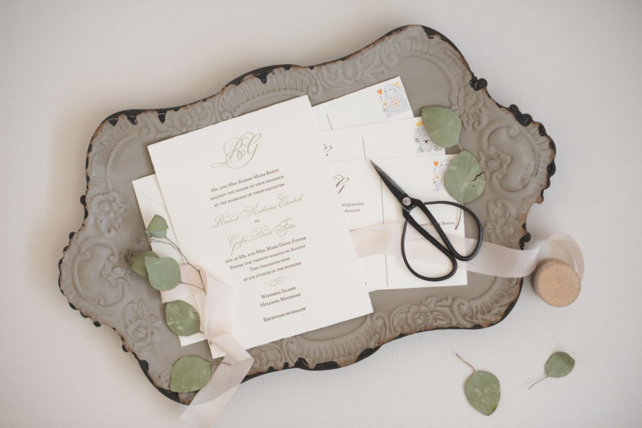 Wedding day photo styling trays and sheers from Southern Grown Vintage