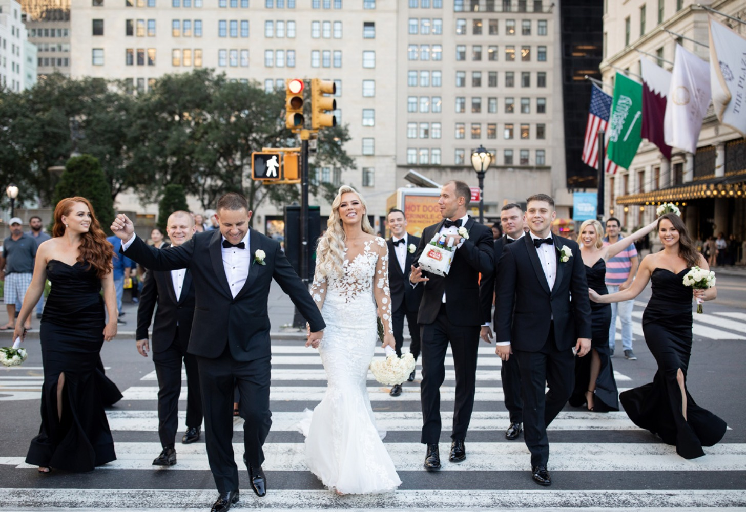 just married in New York City