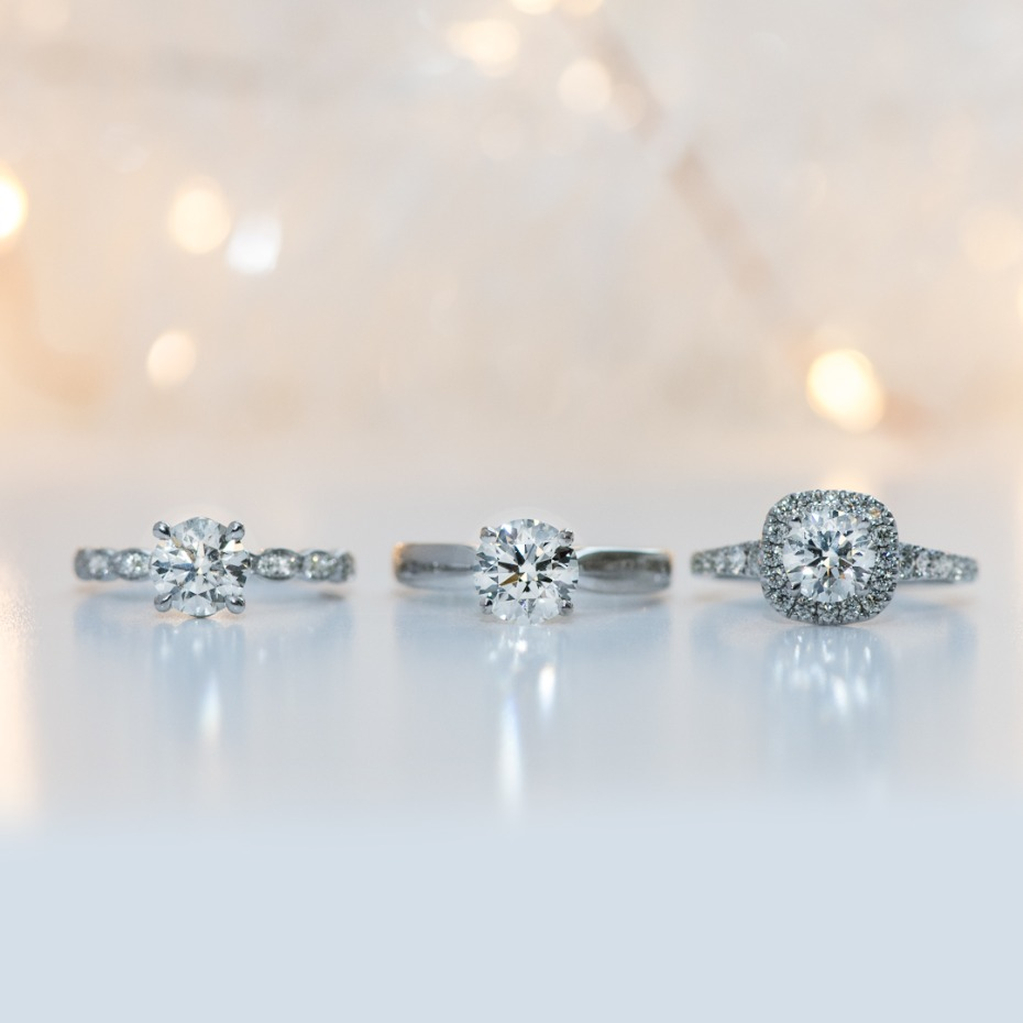 Hearts On Fire Holiday Sparkle Engagement Rings