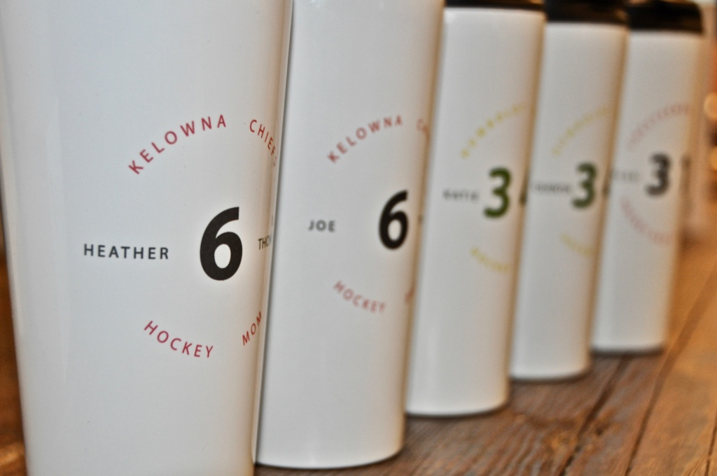 Team tumblers for your wedding party! Complete with titles, number and team names (or your wedding date)! Personalize these and make