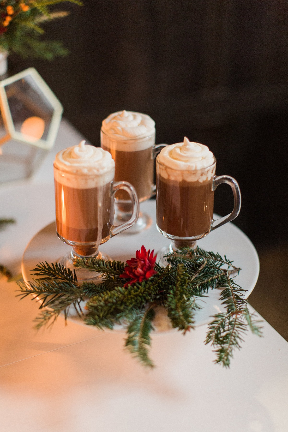 Wedding hot cocoa