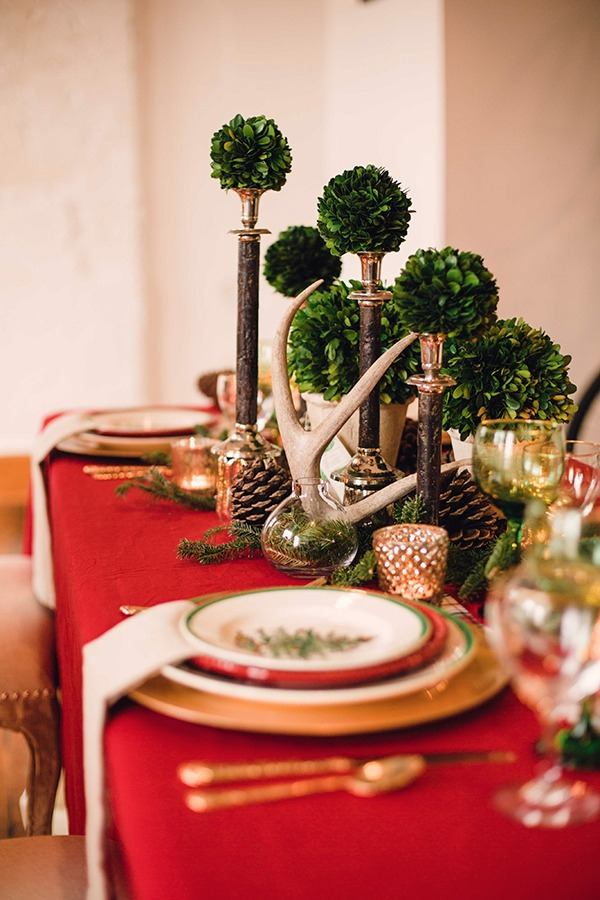 Holiday Party Decorating Ideas Part - 37: 23/29 Rustic Holiday Party Decor Ideas