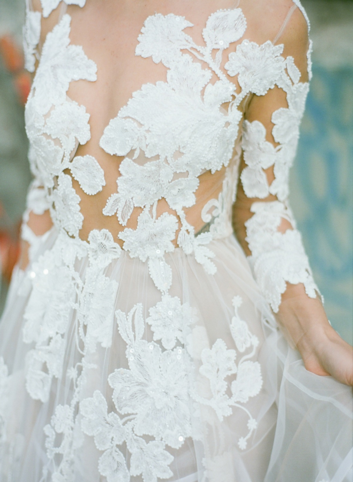 wedding dress by Gala Montenapoleone