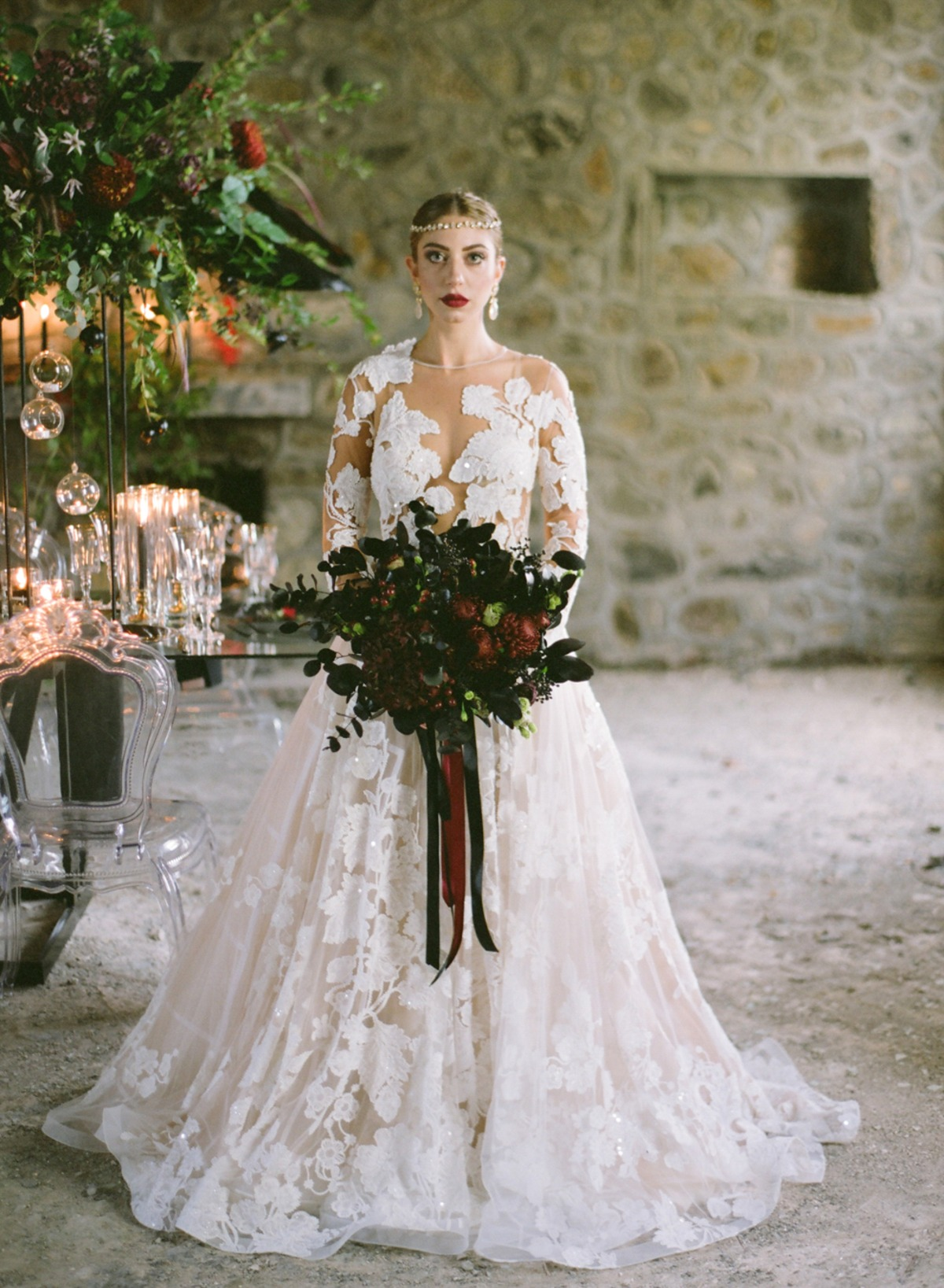 Gala Montenapoleone wedding dress