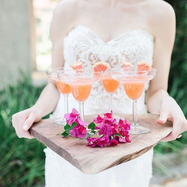 Pantone Living Coral Color of the Year Signature Cocktail Inspiration
