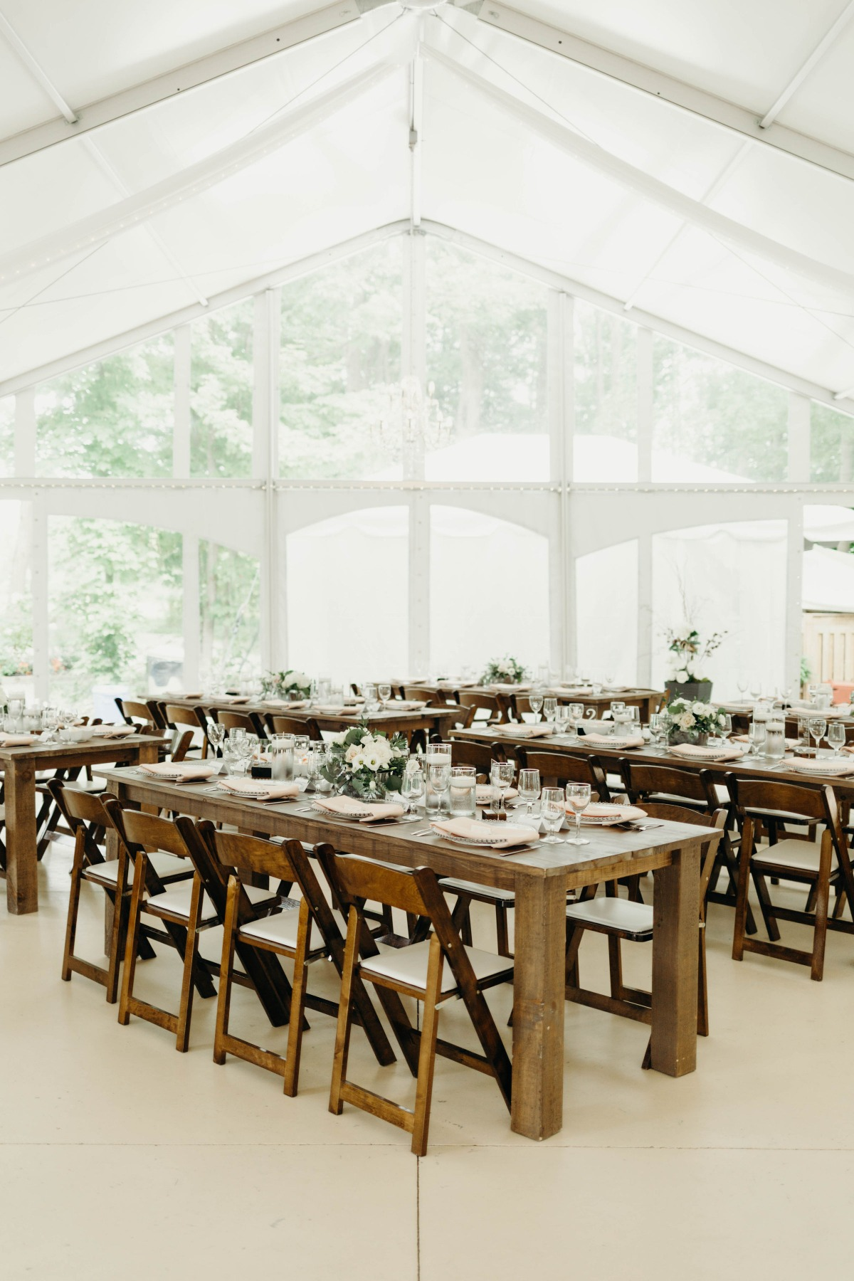rustic farm wedding reception decor