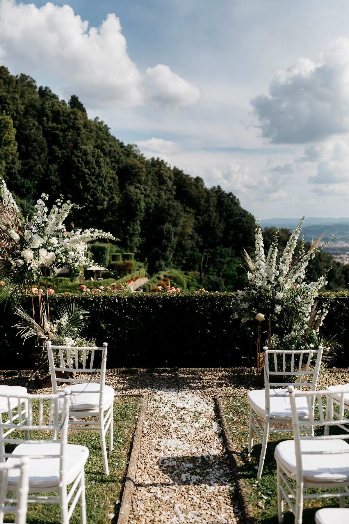 Italian countryside wedding