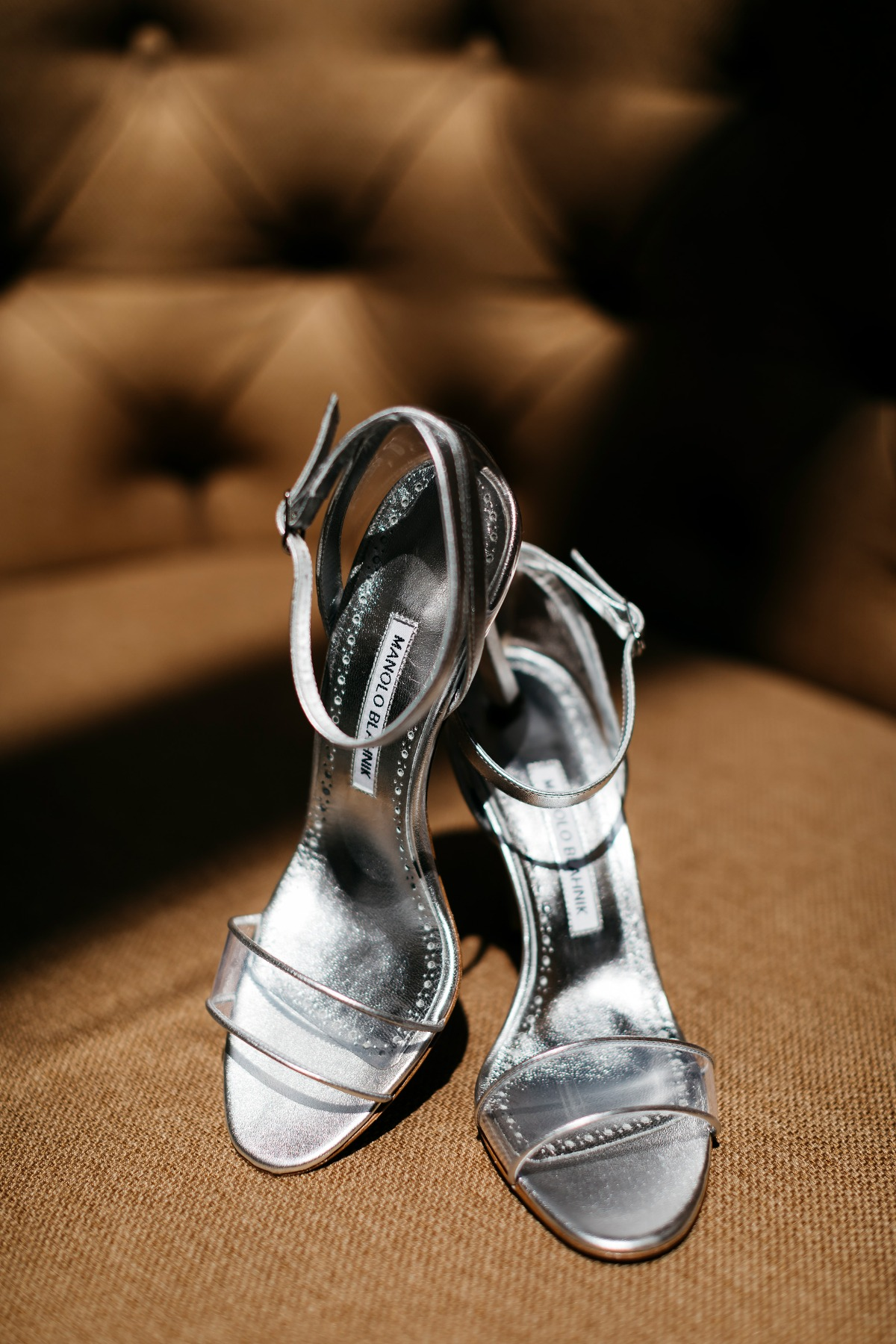 Manolo Blahnik heels for the bride