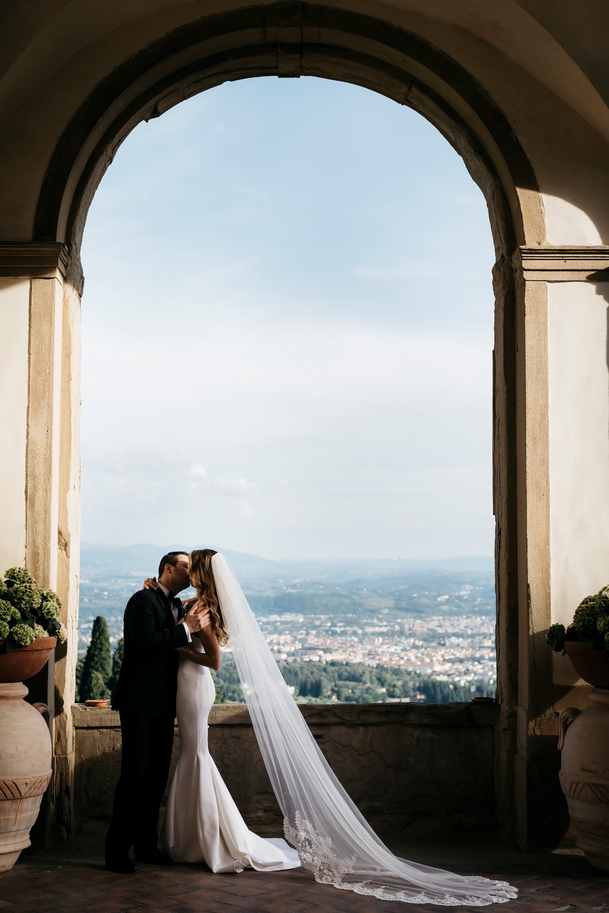 Dreamy Italian wedding