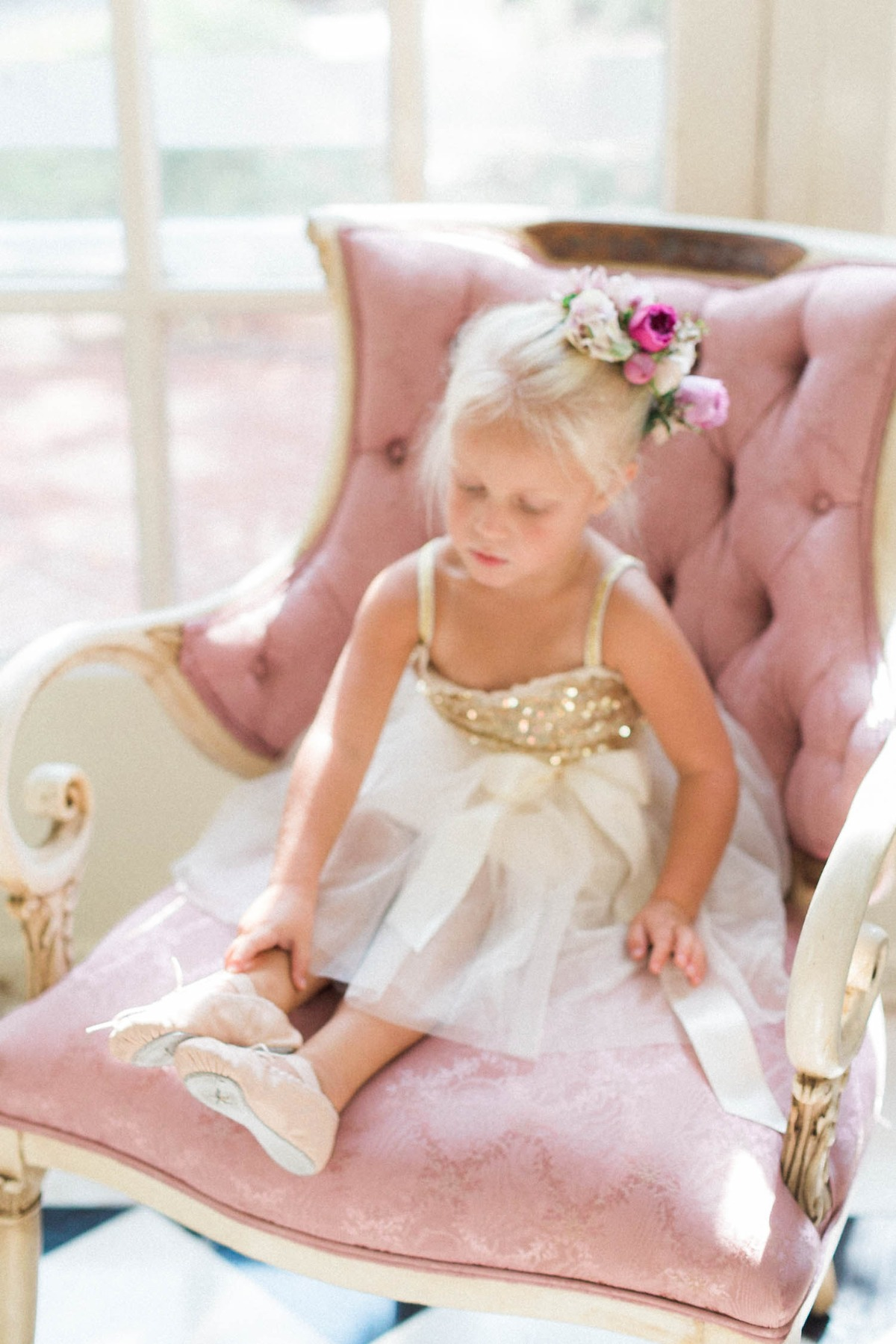 ballerina flower girl