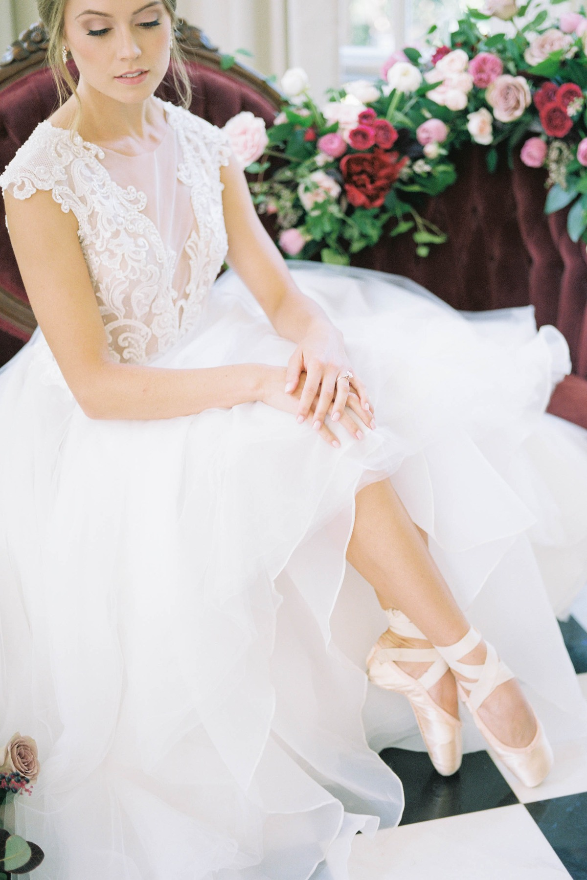 Ballet Inspired Ideas For Your Springtime Wedding