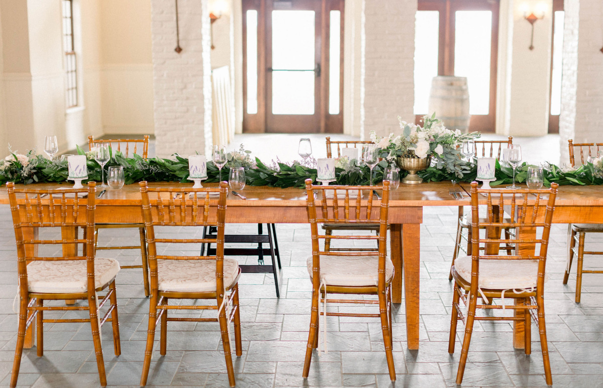 Rustic tablescape decor